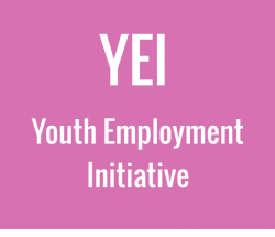 Youth Employment Initiative illustration